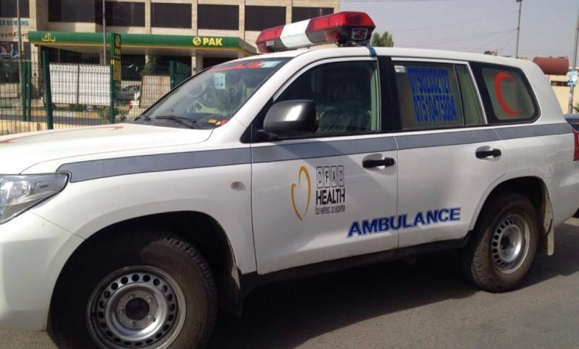 one of DFAD Ambulance
