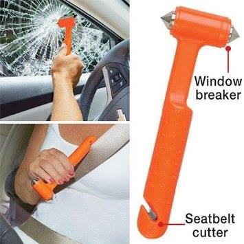 window breaker and seatbelt cutter dfad