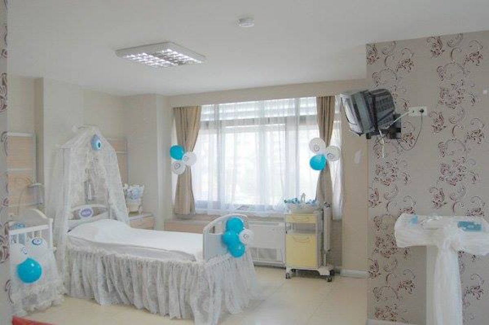 New-Born Baby Hospital Room